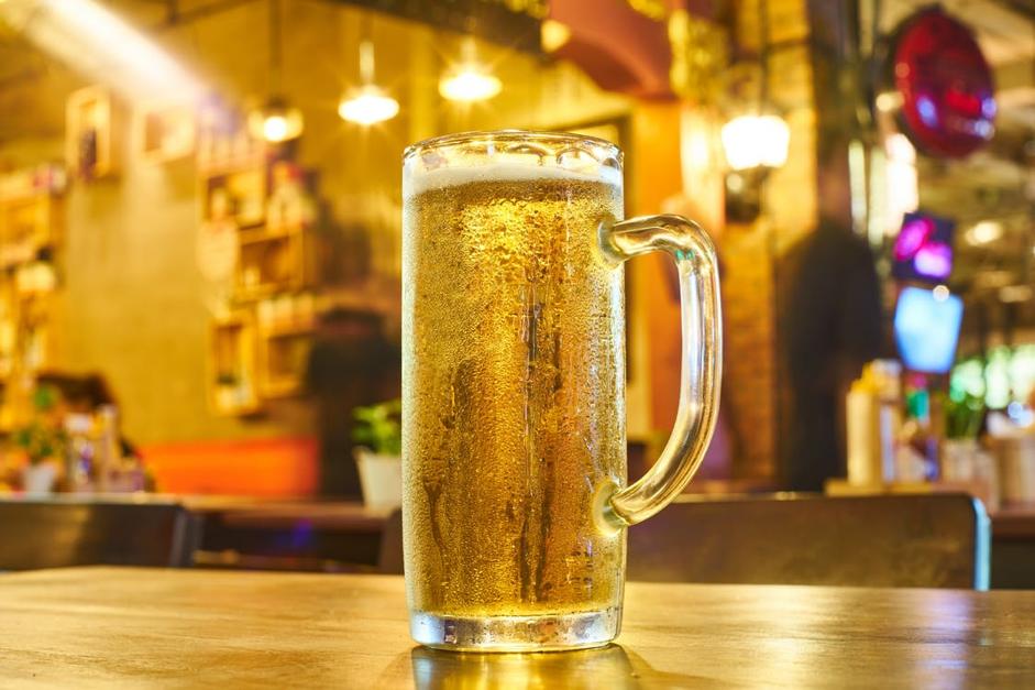 cerveza amarilla
