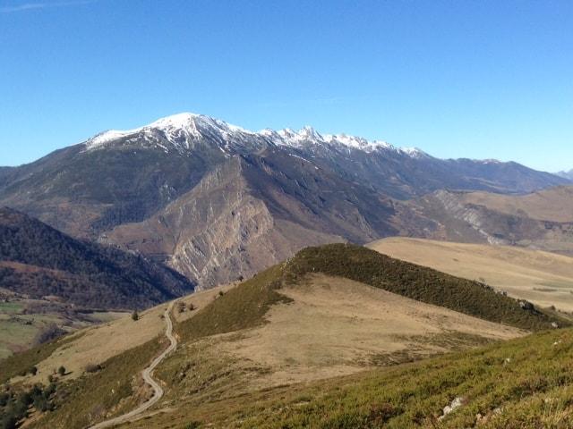 montaña en el 10000 del soplao