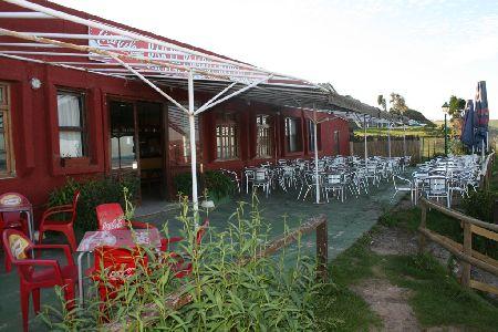 Terraza de El Restaurante El Pájaro Amarillo
