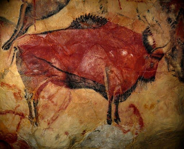bison en la cueva de Altamira