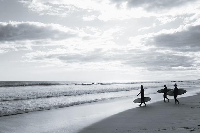 Playa de surf en Cantabria