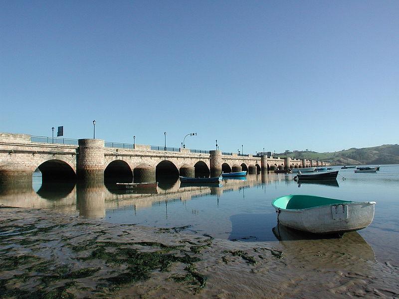 Puente de Maza en San Vicente de la Barquera