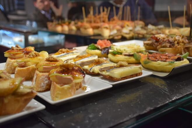 Bares donde comer en Santander