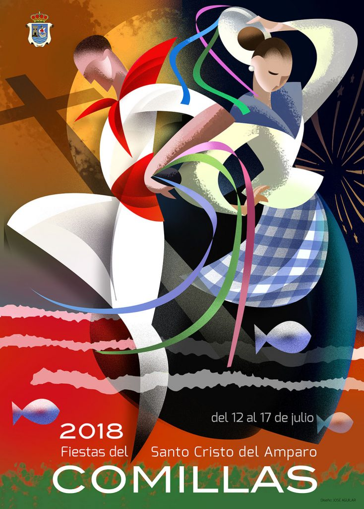 Fiestas de Comillas 2018 el Cristo cartel